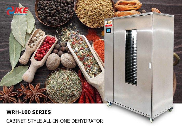 IKE-Read WRH-100 series New style News On Ike Food Dehydrator