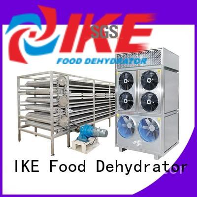 large metal conveyor belt dehydrator for jerky IKE