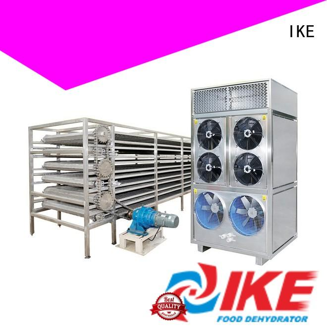 IKE Brand conveyor dehydrator drying line mesh factory