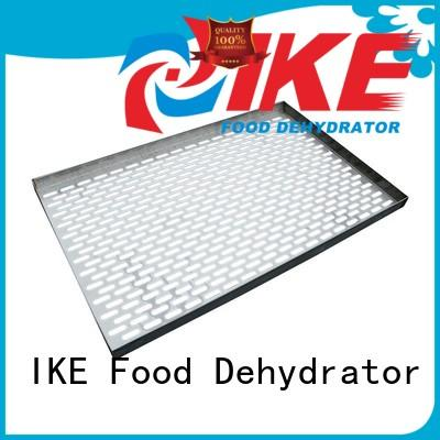 IKE round commercial shelving racks trays for food