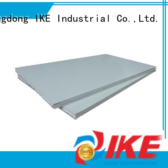 stainless steel shelving with wheels retaining for food IKE