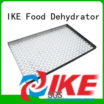 IKE stainless heavy duty steel shelving hole for fruit