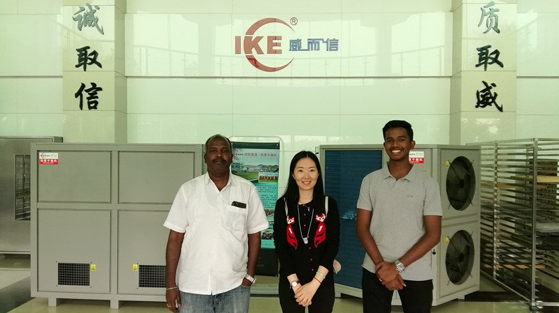 IKE-Company News | Indian customer visited our factory during the Guangzhou Trade Fair