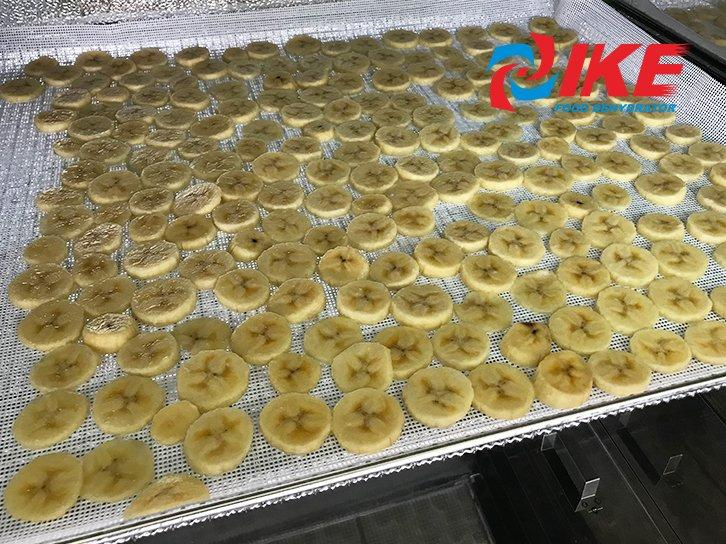 how to dry fruit banana by WRH-100B