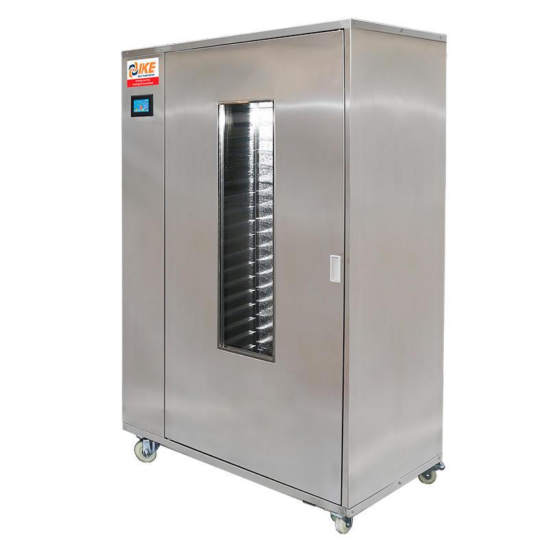 Máquina comercial de alta temperatura del horno del secador de la carne de WRH-100G