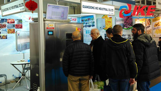 IKE In Commercial Dehydrator Machine Exhibition In March 2018