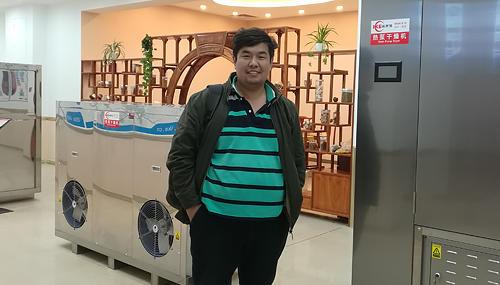 Cliente de Kazajstán encontrar deshidratador de melón