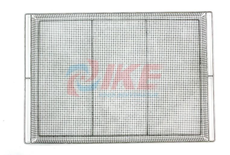 IKE-Dehydrator Trays Stainless Steel 304 Wire Mesh Food Dehydrator Tray For Dryer