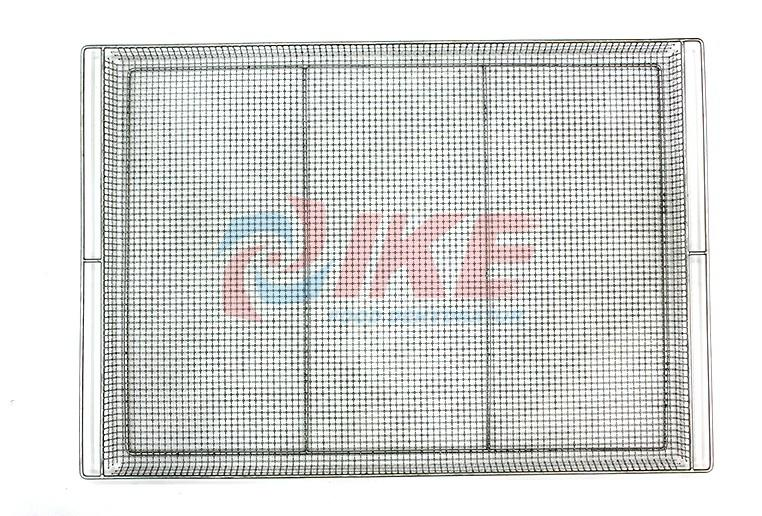 plastic steel shelving unit screen for food