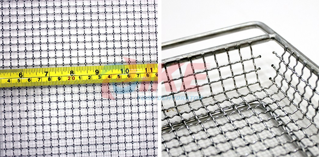 IKE-Dehydrator Trays Stainless Steel 304 Wire Mesh Food Dehydrator Tray For Dryer-1