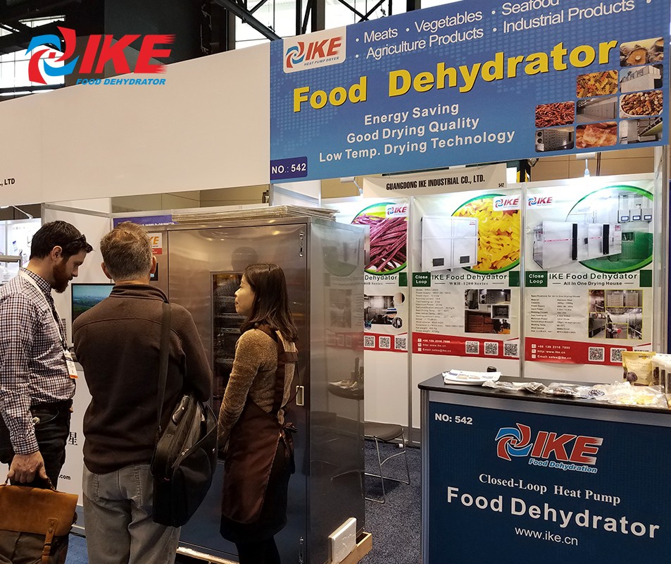 IKE-Ike Took Part In The Food Processing Machine Exhibition In The United States