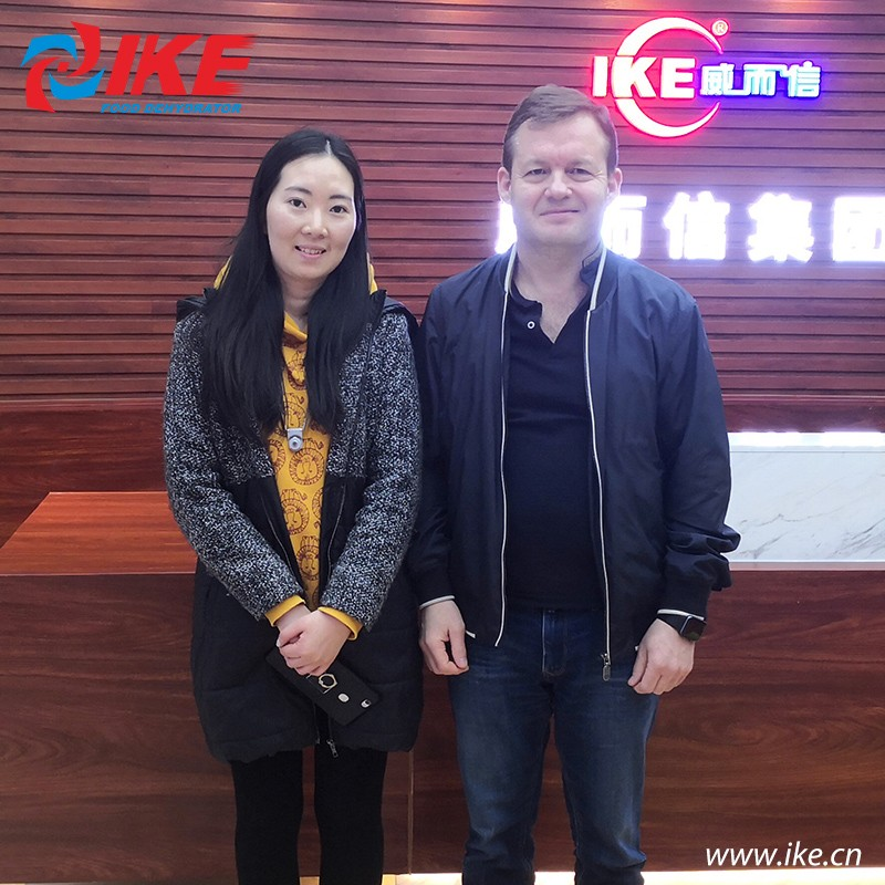 IKE-Russian Customer Came To Find Dried Fruit Dryer