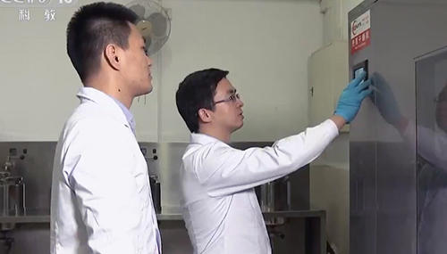 CCTV News About IKE Laboratory Dryer