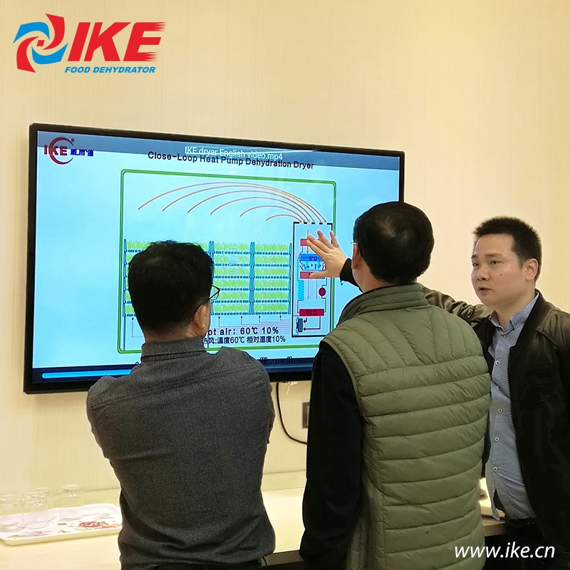 IKE-Electric Food Dehydrator-korean Customer Like Ike Food Drying Machines