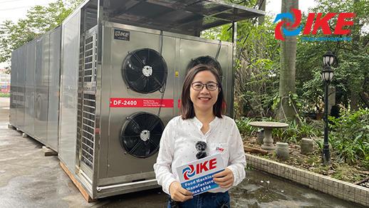 Sistema personalizado de deshidratación de alimentos AIO-DF2400