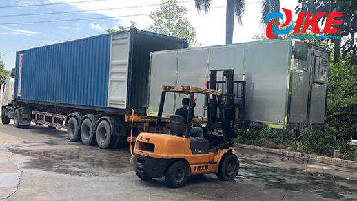 Loading Process-AIO-S1500GP Dehydration System