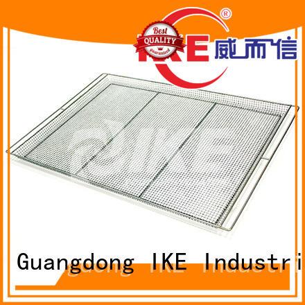flat hole dehydrator trays round IKE Brand company