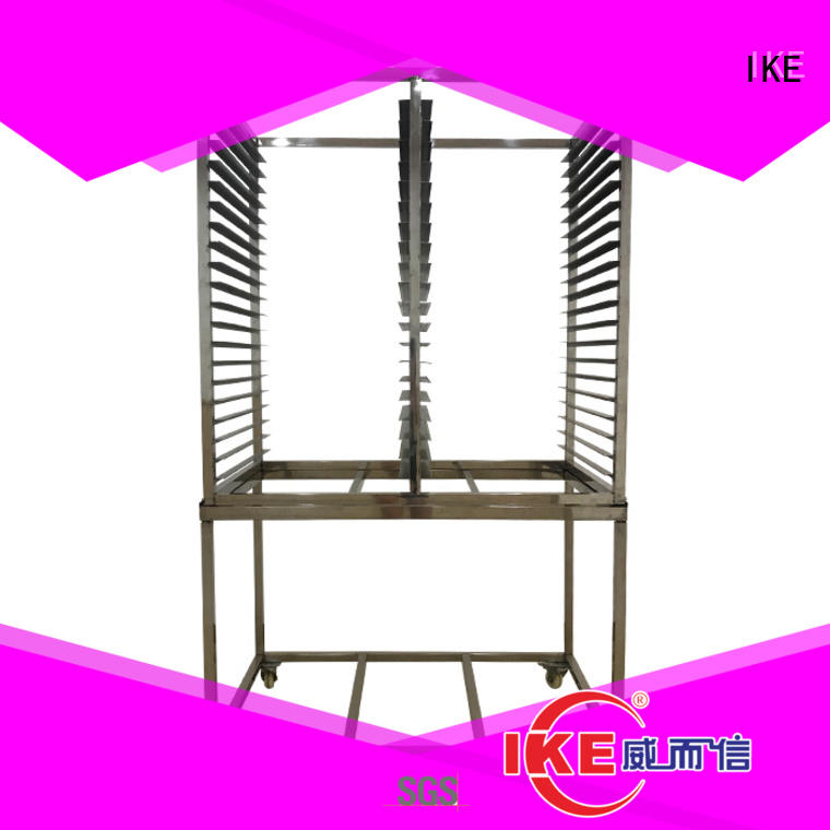IKE commercial commercial shelving racks round for food