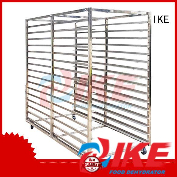 IKE Brand flat dehydrator trays slot factory