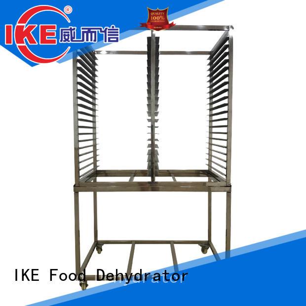 flat round IKE Brand dehydrator trays
