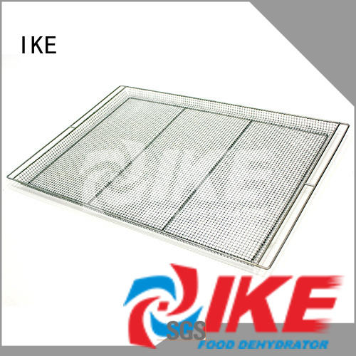 IKE mesh metal wire shelving trays for vegetable