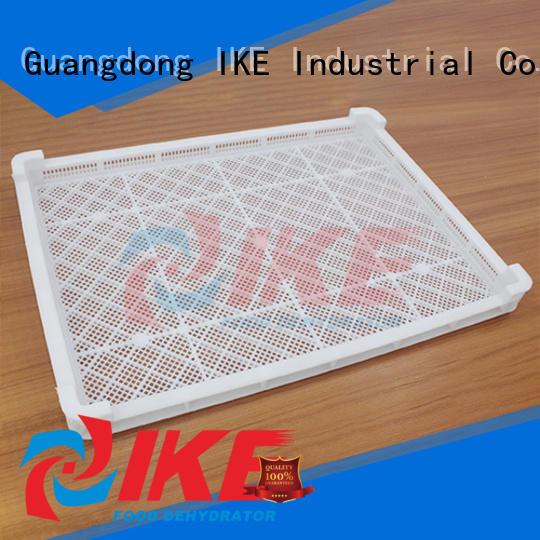 IKE Brand retaining slot net dehydrator trays manufacture