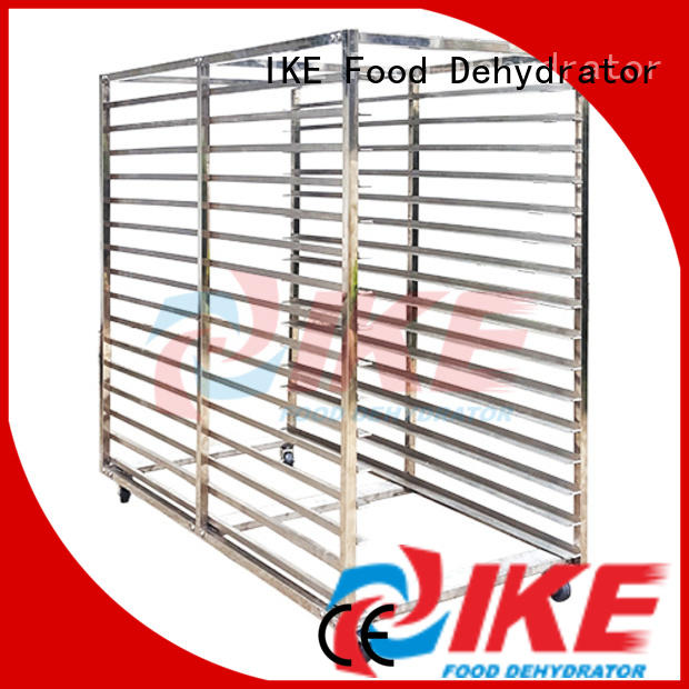 IKE steel commercial shelving units hole for vegetable