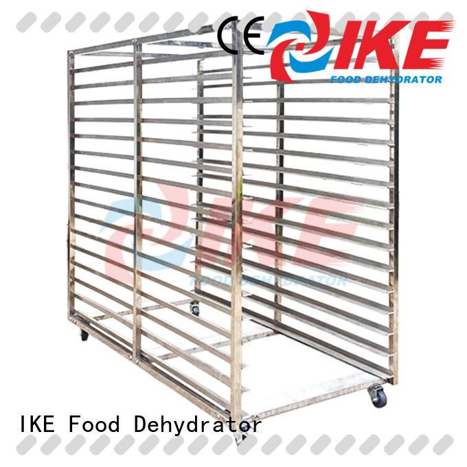 IKE dryer heavy duty steel shelving hole for fruit