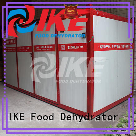 IKE Brand stainless middle dehydrator machine manufacture