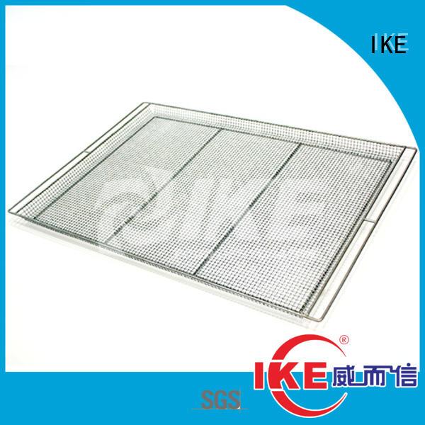 IKE wire heavy duty steel shelving hole fruit