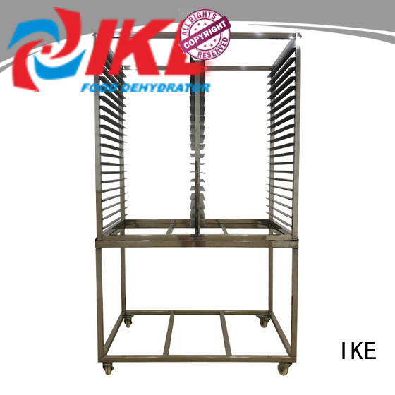 IKE steel commercial shelving racks dehydrating for food