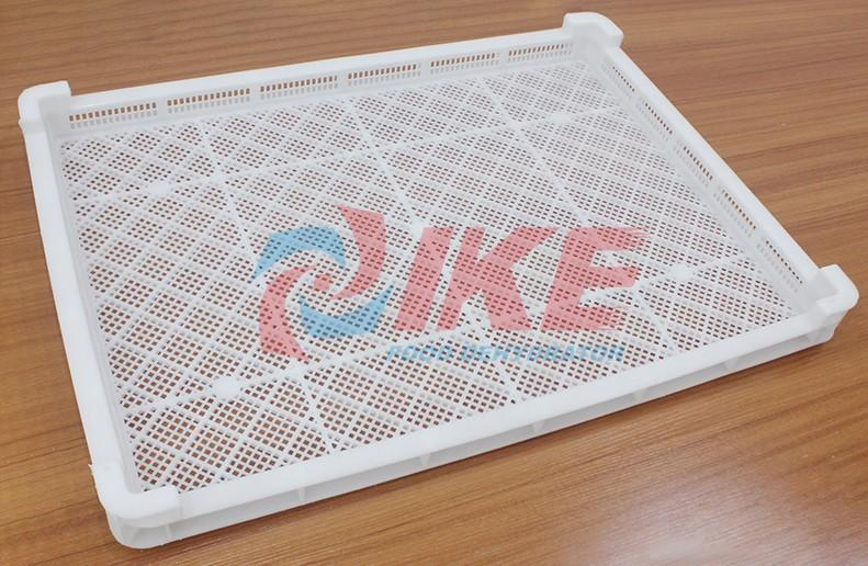 IKE-Best Dehydrator Trays Commercial Dehydrator Plastic Trays For Food Manufacture